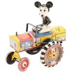 "Marx & Co. and Disney Mickey Mouse Tin Litho ""Dipsy"" Car"