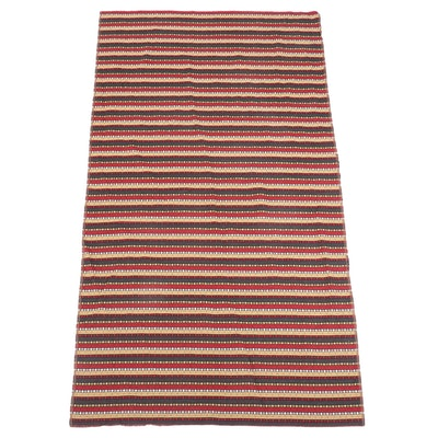 4'7 x 8'5 Machine Made Persian Kilim Area Rug