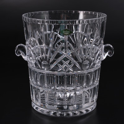 """Shannon Crystal by Godinger """"Freedom"""" Champagne Bucket"""