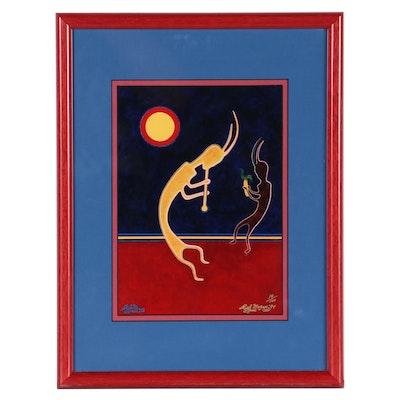 """Rich Moyers Chromogenic Print """"Harvest Serenade,"""" 1994"""
