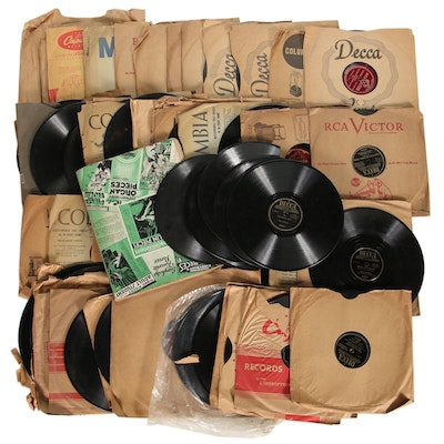 Bing Crosby, Perry Como, Frankie Carle, Les Paul, Jo Stafford, Other 78 Records