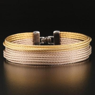 Alor Multi-Strand Stainless Steel Cable Bracelet