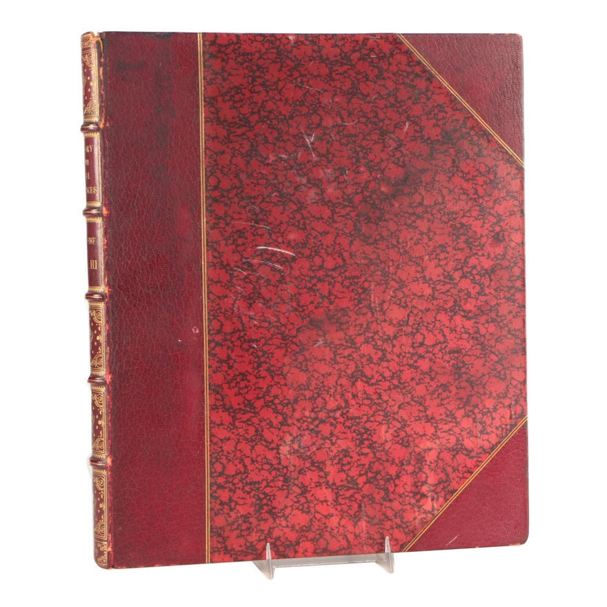 """Illustrated """"History of the Royal Residences"""" Vol. III by W. H. Pyne, 1819"""