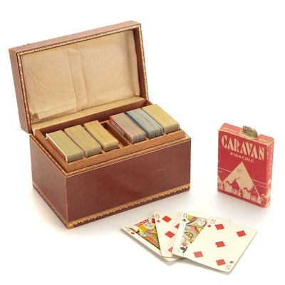 U.S. Playing Card Co. Pinochle Deck and Other Playing Cards.