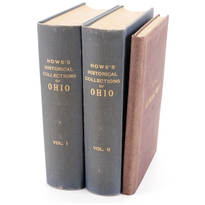 """""""Historical Collections of Ohio,"""" Two-Volume Set, More, 1871 - 1904"""