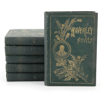 """""""Waverley Novels"""" Collection by Sir Walter Scott, Mid to Late 19th Century"""