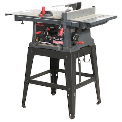 """Craftsman 10"""" 3.0 HP Table Saw with Stand"""