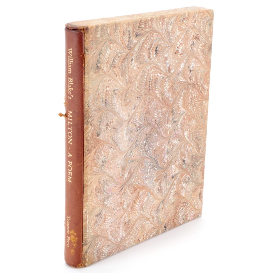 """Limited Facsimile Edition """"Milton: A Poem"""" by William Blake"""