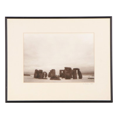 "Ron Durham Photograph ""Stonehenge - Summer Solstice,"" 1994"
