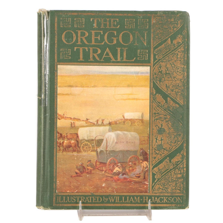 """Illustrated """"The Oregon Trail"""" by Francis Parkman"""