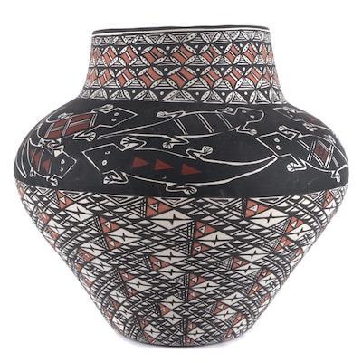 Miranda Leno Acoma Pueblo Pottery Ceramic Vase