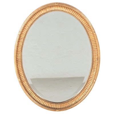 FB Decorative Arts Inc. Giltwood and Composition Mirror, Late 20th Century