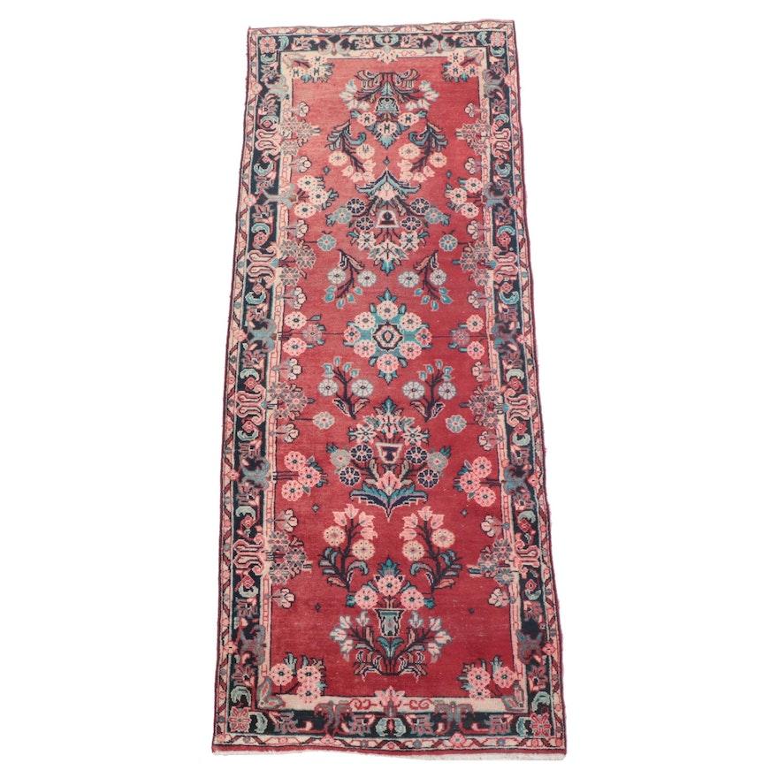 3'11 x 10'1 Hand-Kotted Persian Arak Long Rug