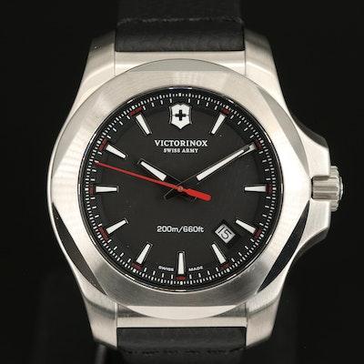 Victorinox Swiss Army Inox Stainless Steel Quartz Wristwatch