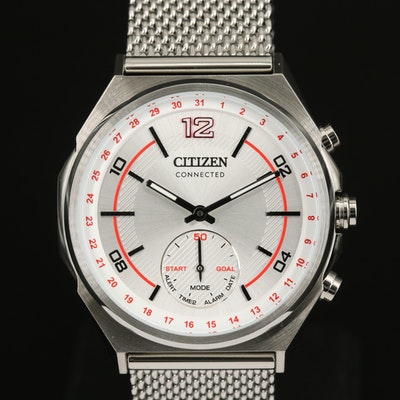 Citizen Connected Stainless Steel Hybrid Smartwatch