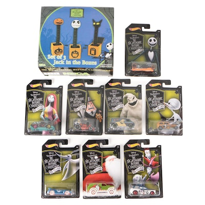 """Mattel Hot Wheels """"The Nightmare Before Christmas"""" Character Cars and Other"""
