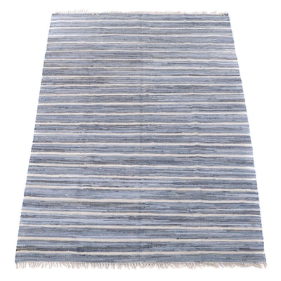8'11 x 12'4 Handmade Dash & Albert Room Sized Rag Rug