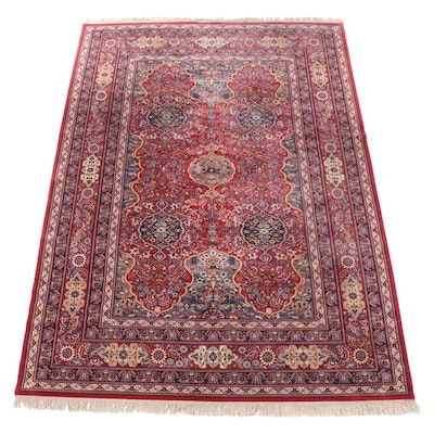 9'10 x 14'2 Machine Made Floral Room Sized Rug