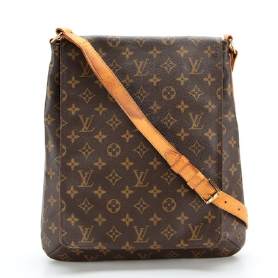 Louis Vuitton Musette Salsa Shoulder Bag in Monogram Canvas and Leather