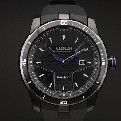 Citizen Eco-Drive Black Panther Quartz Wristwatch