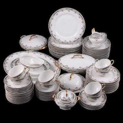 Tressemanes & Vogt Limoges Porcelain Dinnerware