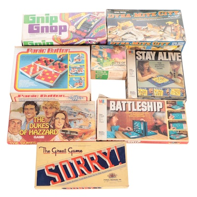 """Board Games Including """"Gnip Gnop"""", """"Battleship"""", """"Sorry"""", and More"""