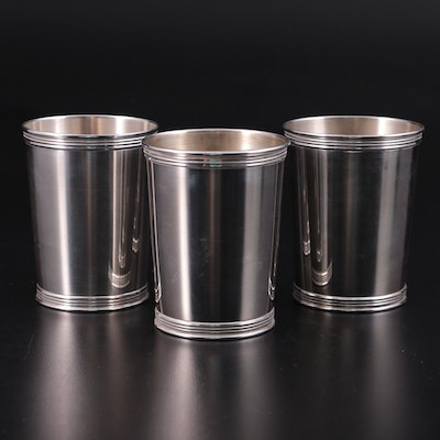 Manchester Silver Co. Sterling Silver Julep Cups, Early to Mid-20th Century