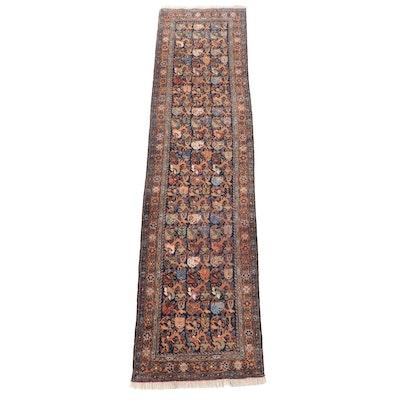 3'5 x 14'4 Hand-Knotted Caucasian Kuba Long Rug