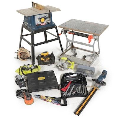 Ryobi Table Saw, Craftsman, Black & Decker and More Tools