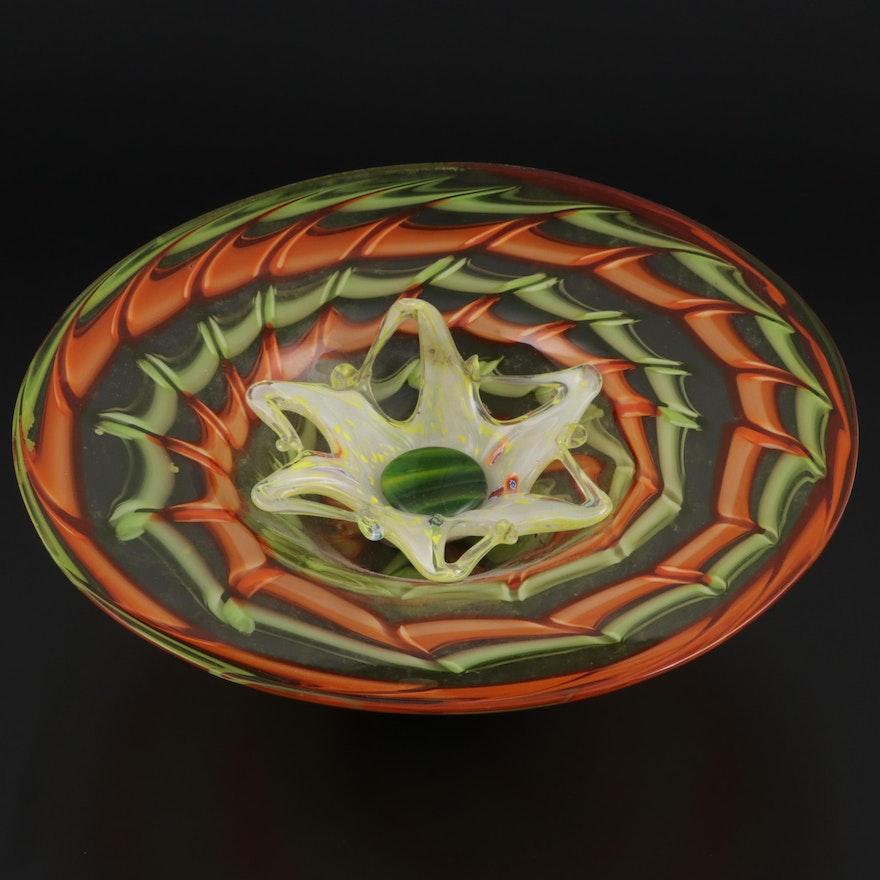 Assembled Murano and Other Art Glass Centerpiece Bowls