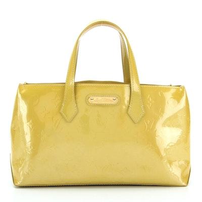 Louis Vuitton Wilshire PM Bag in Monogram Vernis