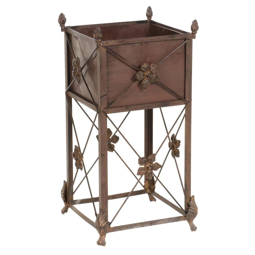 Metal Box Planter