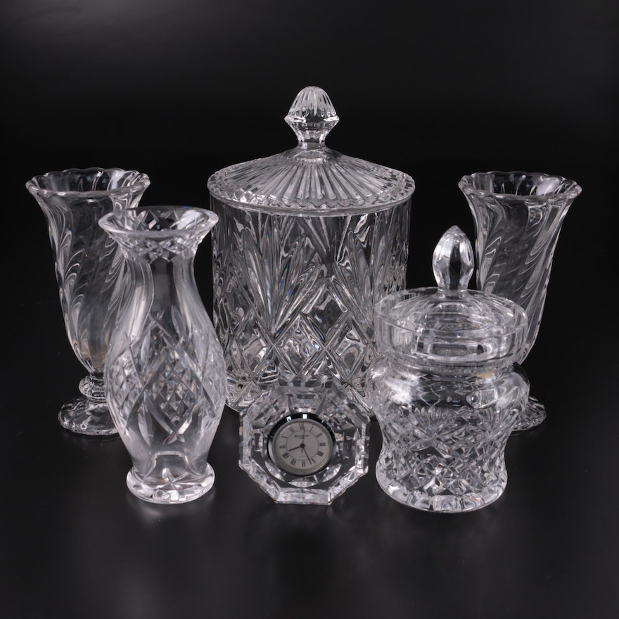 Waterford Crystal and Other Glass and Crystal Tableware