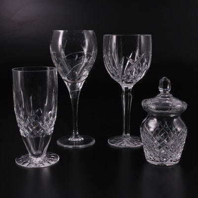 """Waterford Crystal """"Lismore"""" Iced Tea Glass and Other Crystal Tableware"""