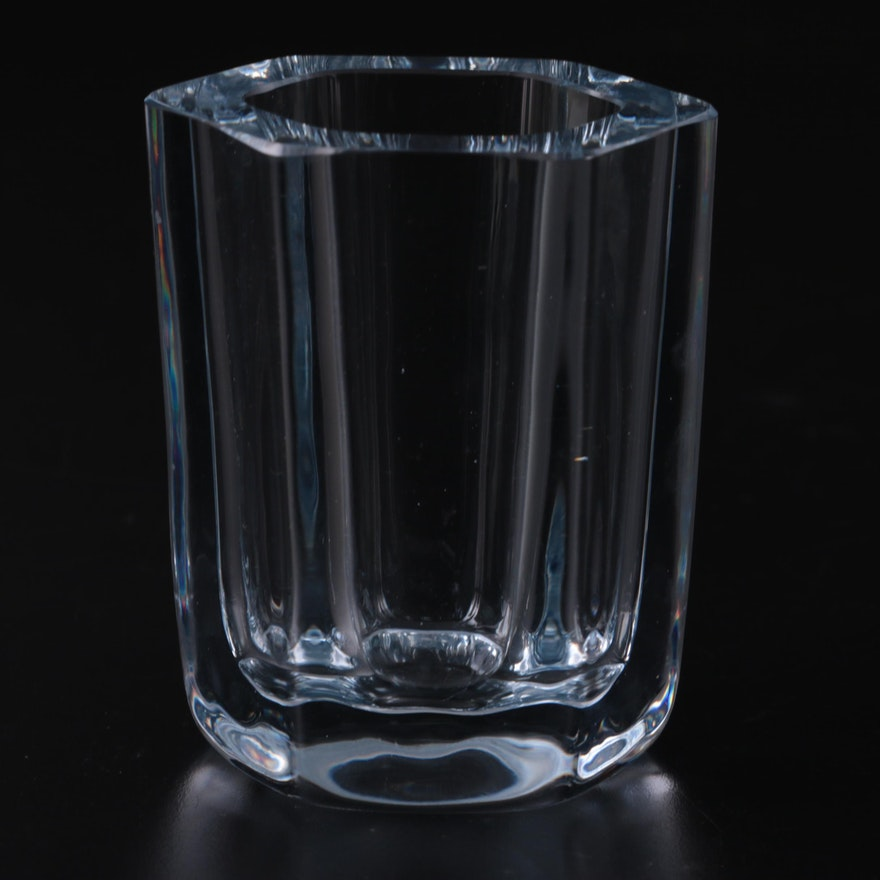Strömbergshyttan Glass Vase, Mid to Late 20th Century