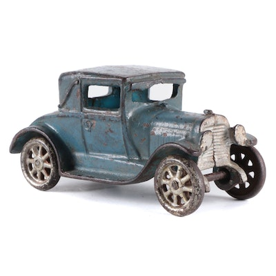 Cast Iron Car Toy, Early to Mid-20th Century