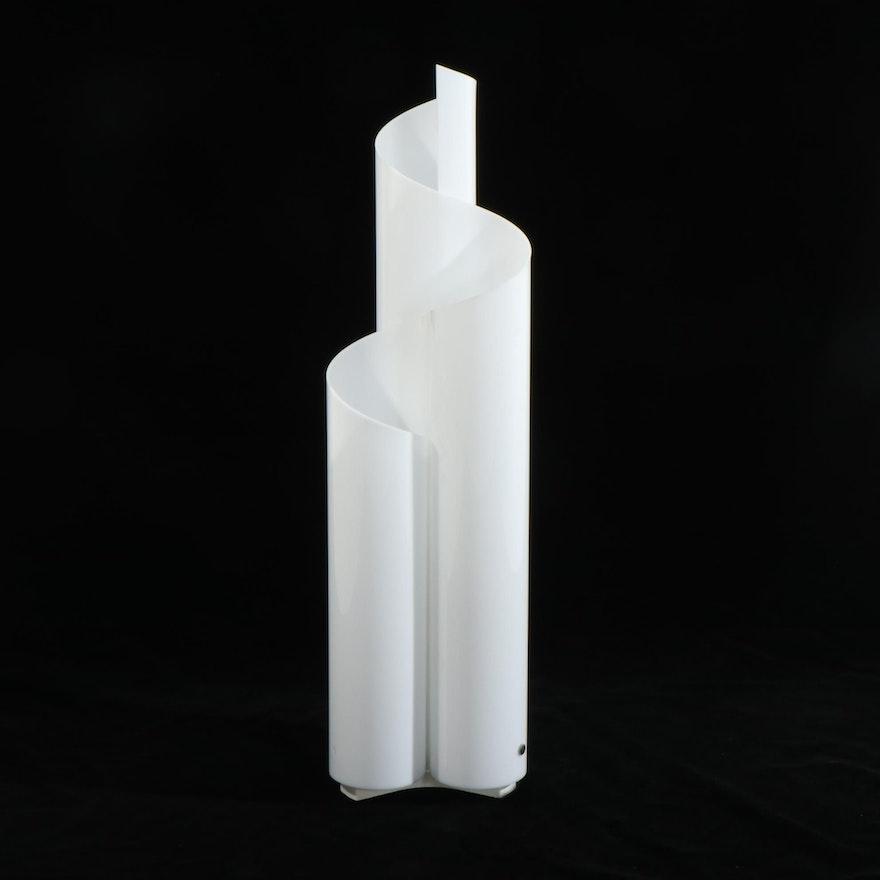 """Vico Magistretti for Artemide """"Mezzachimera"""" Acrylic Table Lamp"""
