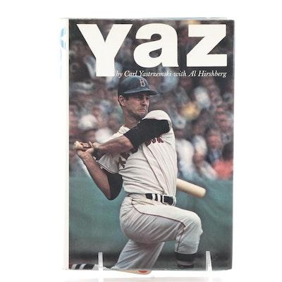 "Signed First Edition ""Yaz"" by Carl Yastrzemski,"
