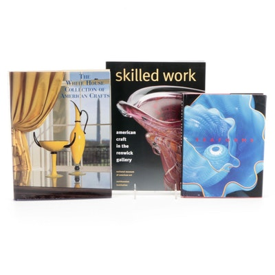 """Signed """"Chihuly Seaforms"""" by Dale Chihuly and More Art Books"""