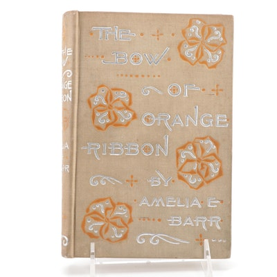 """""""The Bow or Orange Ribbon,"""" from the Library of Oscar Hammerstein II, 1893"""