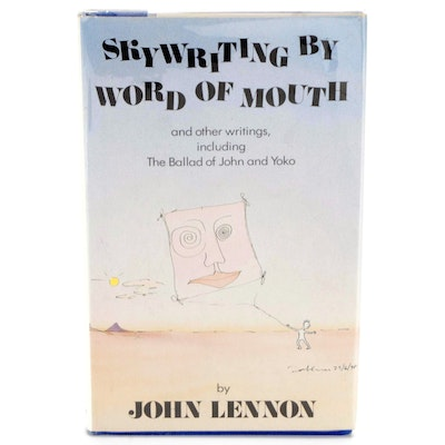 """First Edition """"Skywriting by Word of Mouth"""" by John Lennon, 1986"""