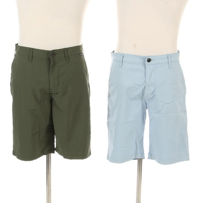 Men's Adriano Goldschmied Green Label and Hurley DriFit Shorts
