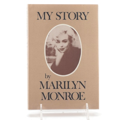 """First Edition """"My Story"""" by Marilyn Monroe, 1974"""