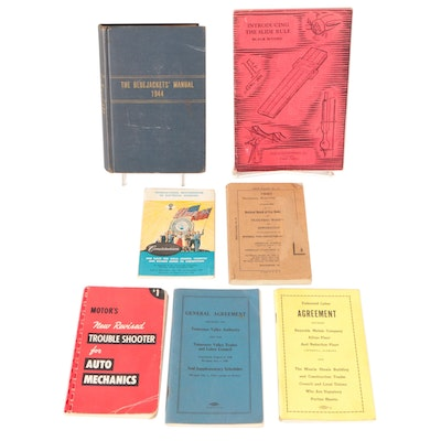 """""""The Bluejackets' Manual"""" and More Technical Manuals, Early to Mid-20th Century"""