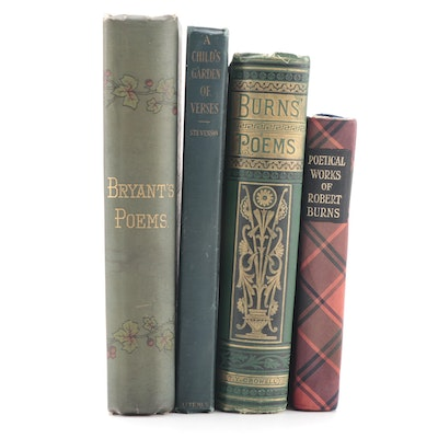 Robert Burns Poetry Collections and More, Late 19th/Early 20th Century