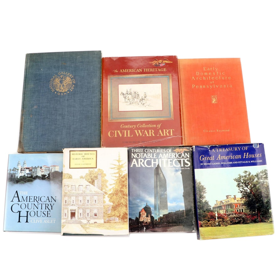 """Art and Architecture Books Including """"Civil War Art"""" and More"""