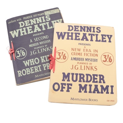 Dennis Wheatley Murder Mystery Stories, Early to Mid-20th Century