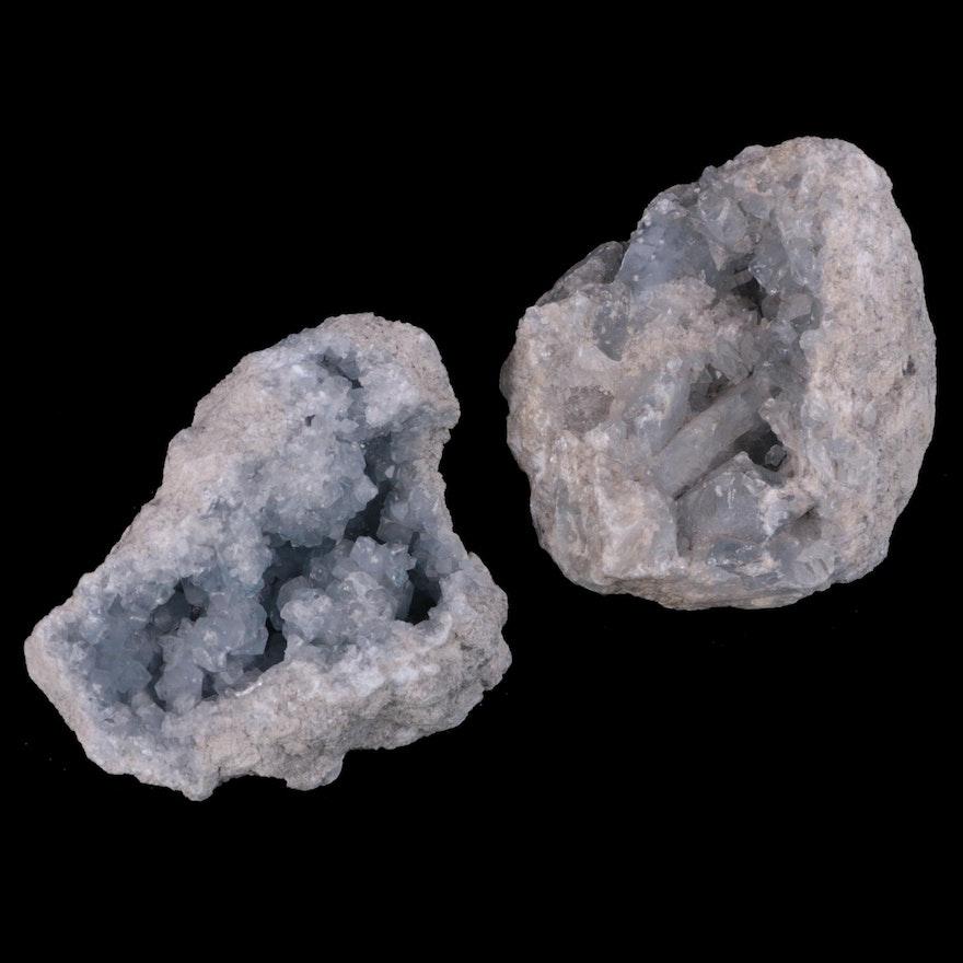 Celestine Geode Specimens