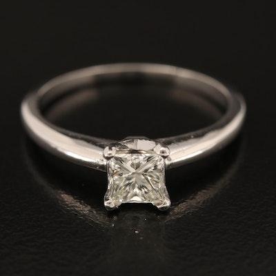 14K 0.60 CT Diamond Solitaire Ring
