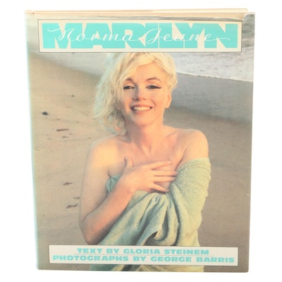 """Signed First Edition """"Marilyn"""" by Gloria Steinem, 1986"""